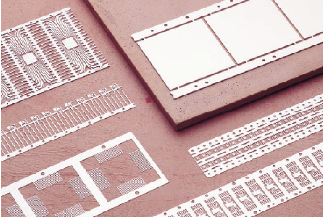 Semiconductor package components